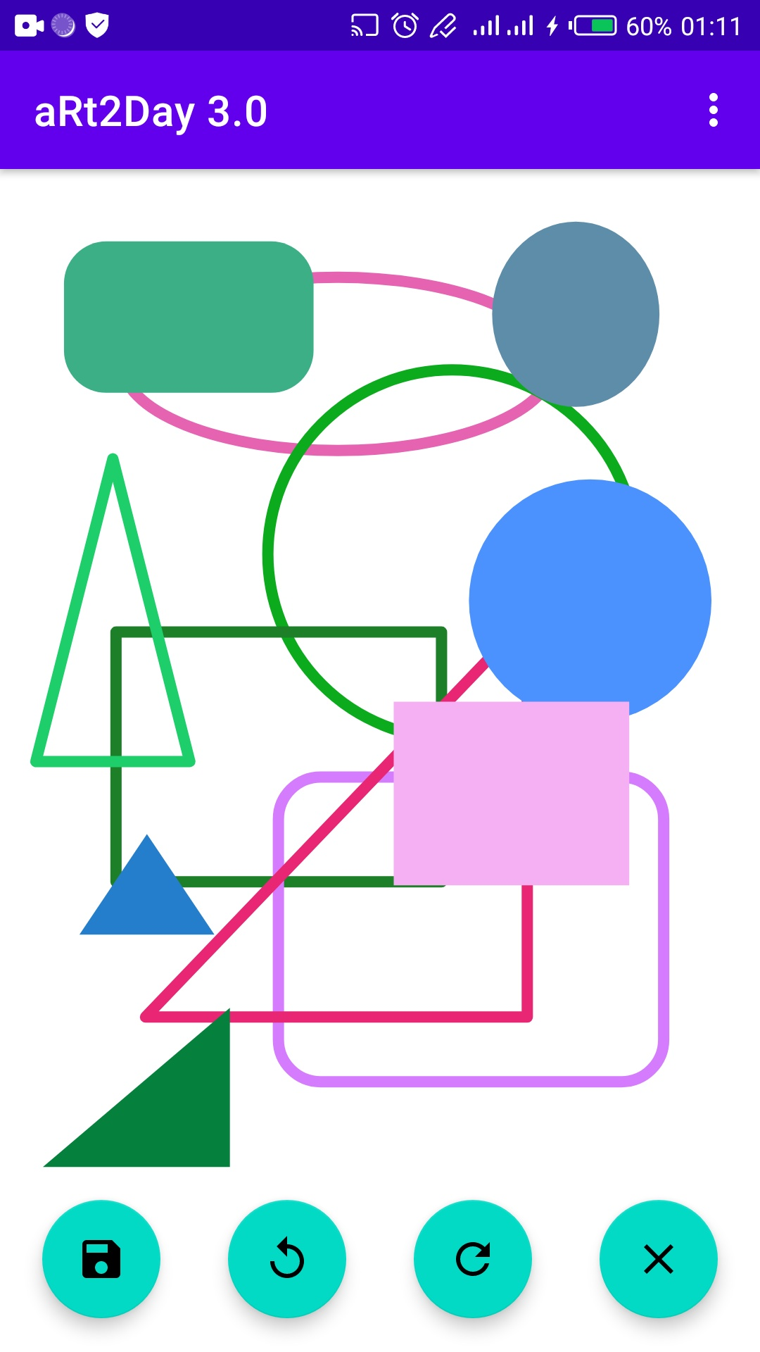 draw shapes tool